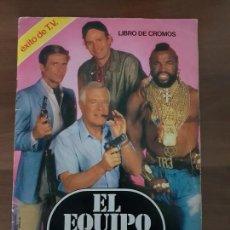 Coleccionismo Álbum: ALBUM COMPLETO EL EQUIPO A EDICIONES ESTE BUEN ESTADO (1983). Lote 148998194