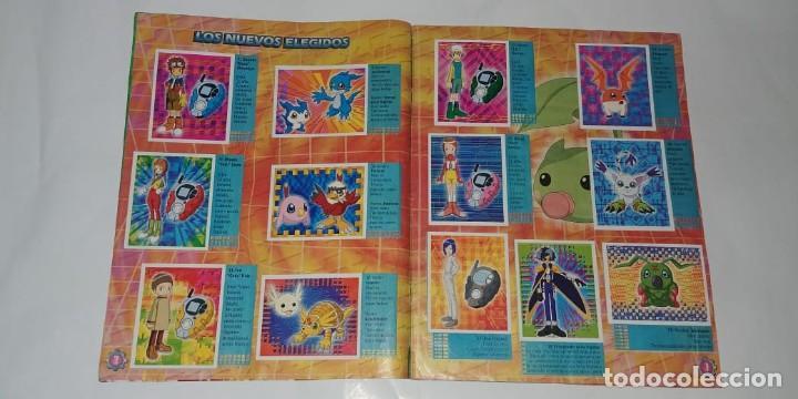 Coleccionismo Álbum: Album Digimon 2 - Editorial Navarrete 2001 - 100% Completo - Foto 2 - 149592434