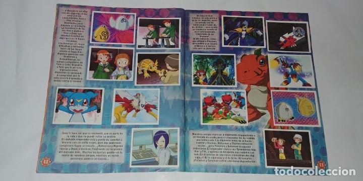 Coleccionismo Álbum: Album Digimon 2 - Editorial Navarrete 2001 - 100% Completo - Foto 3 - 149592434