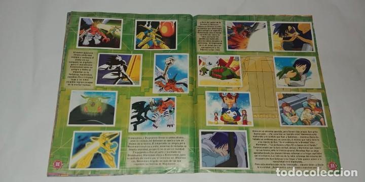 Coleccionismo Álbum: Album Digimon 2 - Editorial Navarrete 2001 - 100% Completo - Foto 5 - 149592434