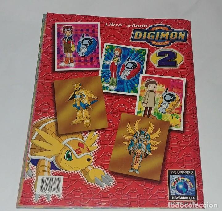 Coleccionismo Álbum: Album Digimon 2 - Editorial Navarrete 2001 - 100% Completo - Foto 6 - 149592434