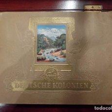 Coleccionismo Álbum: DEUTSCHE KOLONIEN ALBUM ALEMAN. Lote 149882374