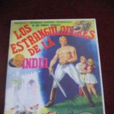 Coleccionismo Álbum: LOS ESTRANGULADORES DE LA INDIA FACSIMIL. Lote 149883666