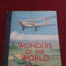 Coleccionismo Álbum: WONDERS OF THE WORLD NESTLES. Lote 149884282