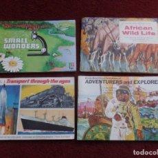 Coleccionismo Álbum: LOTE DE ALBUMES DE CROMOS INGLESES . Lote 149884362