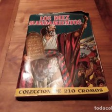 Coleccionismo Álbum: ALBUM, LOS DIEZ MANDAMIENTOS, COMPLETO , BRUGUERA 1959. Lote 149886830