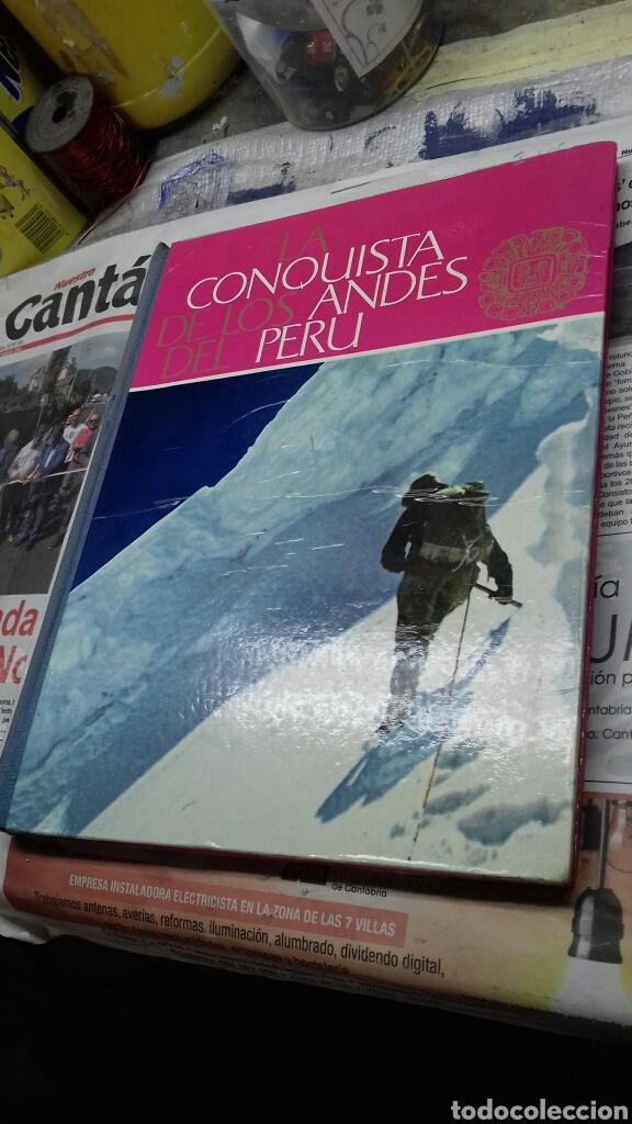 LA CONQUISTA DE LOS ANDES DEL PERU. ALBUM NESTLE.COMPLETO (Coleccionismo - Cromos y Álbumes - Álbumes Completos)