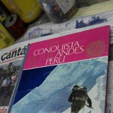 Coleccionismo Álbum: LA CONQUISTA DE LOS ANDES DEL PERU. ALBUM NESTLE.COMPLETO. Lote 150204168