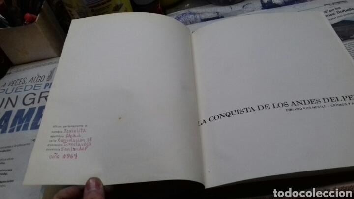 Coleccionismo Álbum: La conquista de los Andes del Peru. Album Nestle.completo - Foto 3 - 150204168