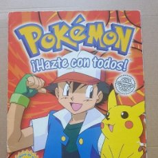 Coleccionismo Álbum: ALBUM COMPLETO POKEMON EDITORIAL MERLIN COLLECTIONS (CON PÓSTER). Lote 150620358