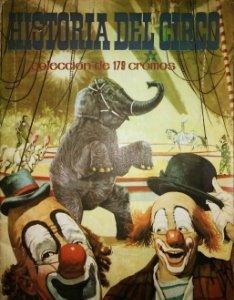 História del circo Álbum de cromos antiguos