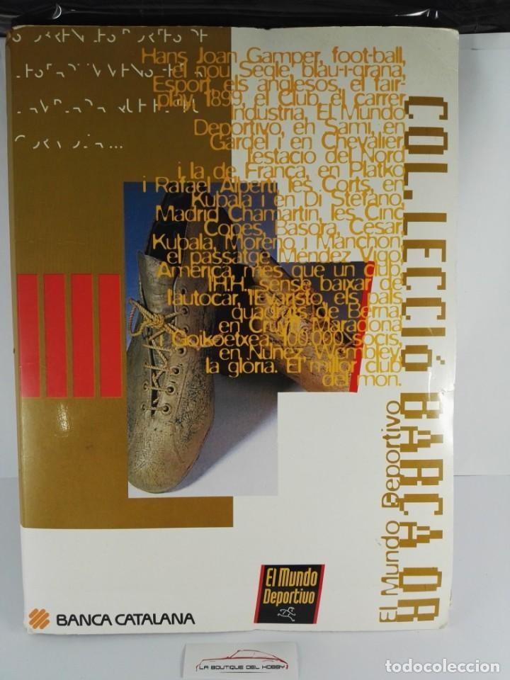 ALBUM COMPLETO COL·LECCIÓ BARÇA OR (Coleccionismo - Cromos y Álbumes - Álbumes Completos)