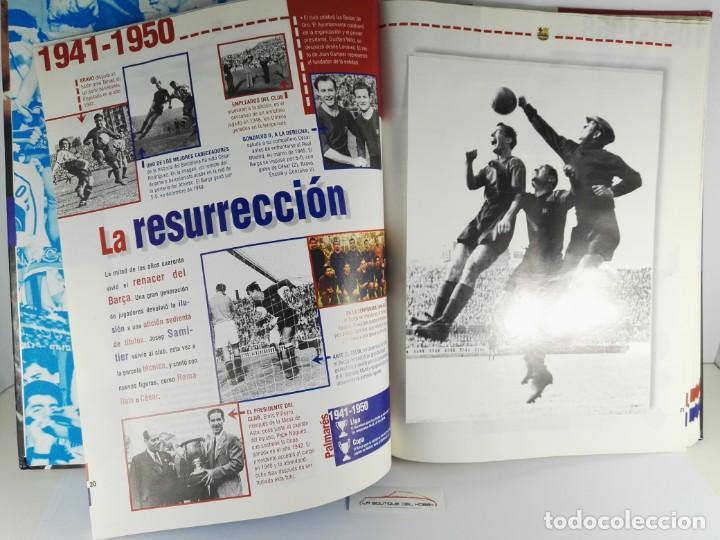 Coleccionismo Álbum: LIBRO ALBUM EL SIGLO DEL BARÇA 100 AÑOS DE IMAGENES - Foto 2 - 151006298