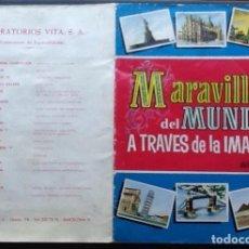 Coleccionismo Álbum: MARAVILLAS DEL MUNDO A TRAVÉS DE LA IMAGEN, ALBUM 2, BRUGUERA 1956. Lote 151098318