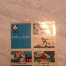 Coleccionismo Álbum: ALBUM COMPLETO. PULGARCITO. COLECCIÓN TREBOL. EDITORIAL SUSAETA, 1970.. Lote 151313098