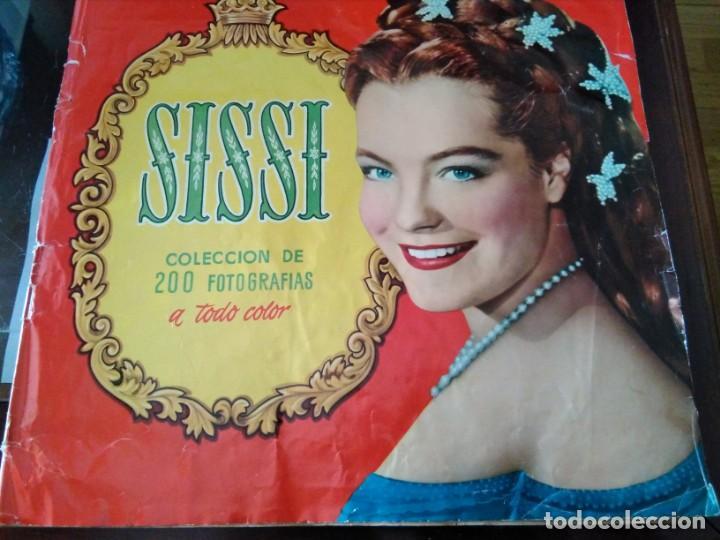 ALBUM COMPLETO SISSI ROMY SCHNEIDER (Coleccionismo - Cromos y Álbumes - Álbumes Completos)