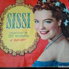 Coleccionismo Álbum: ALBUM COMPLETO SISSI ROMY SCHNEIDER. Lote 151377398