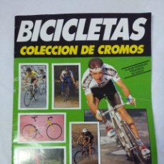 Coleccionismo Álbum: ALBUM INCOMPLETO CICLISMO/BICICLETAS.. Lote 151510338