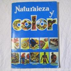 Coleccionismo Álbum: ALBUM DE CROMOS NATURALEZA Y COLOR COMPLETO ED. CAREN. Lote 151535838