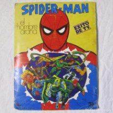 Coleccionismo Álbum: ALBUM DE CROMOS SPIDER-MAN EL HOMBRE ARAÑA FHER 1981. Lote 151536302