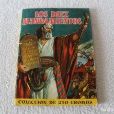 Coleccionismo Álbum: ALBUM DE CROMOS COMPLETO: LOS DIEZ MANDAMIENTOS - EDITORIAL BRUGUERA 1959. Lote 151873034