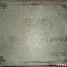 Coleccionismo Álbum: ALBUM COMPLETO GEOGRAFICO UNIVERSAL. CIGARROS SUSINI. TABACALERA CUBANA, LA HABANA. 1936. . Lote 151940882