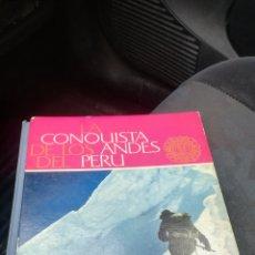 Coleccionismo Álbum: ANTIGUO ÁLBUM, LA CONQUISTA DE LOS ANDES DEL PERÚ. Lote 151974629
