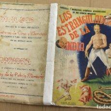 Coleccionismo Álbum: ALBUM DE CROMOS LOS ESTRANGULADORES DE LA INDIA. COMPLETO 480 CROMOS. ORIGINAL FHER BILBAO. RARISIMO. Lote 152139793