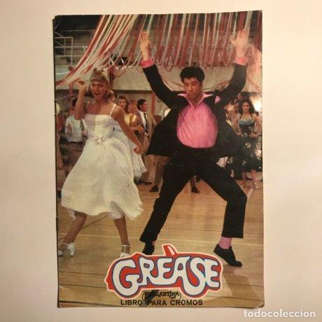 1978 Grease álbum completo con sus 216 cromos. John Travolta. Olivia Newton John