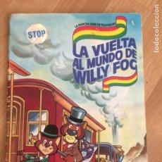 Coleccionismo Álbum: ALBUM DE CROMOS - LA VUELTA AL MUNDO DE WILLY FOG - DANONE - COMPLETO - GCH. Lote 152303314