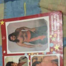 Coleccionismo Álbum: ALBUM CROMOS FANS COMPLETO EDICIONES ESTE 1976. Lote 152368141