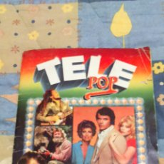 Coleccionismo Álbum: ALBUM TELE POP COMPLETO EDICIONES ESTE AÑO 1980. Lote 152368952