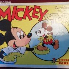 Coleccionismo Álbum: MICKEY STORY. WALT DISNEY. COMPLETO. PERFECTO ESTADO. Lote 152467654