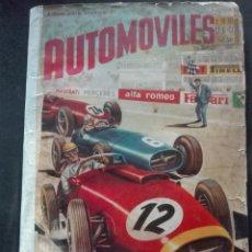 Coleccionismo Álbum: AUTOMÓVILES DE FHER 1958 COMPLETO. Lote 152555138