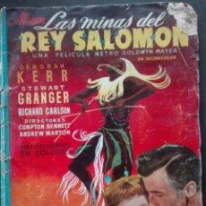 Coleccionismo Álbum: ÁLBUM LAS MINAS DEL REY SALOMÓN EDICIONES CLIPER AÑOS 60 METRO GOLDWYN MAYER. Lote 152557501