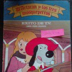 Coleccionismo Álbum: D'ARTACÁN Y LOS TRES MOSQUEPERROS COMPLETO. Lote 152559829