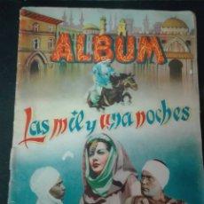 Coleccionismo Álbum: ALBUM LAS MIL Y UNA NOCHES EDITORIAL GRAFIDEA 1945 COMPLETO CON 224 CROMOS. Lote 152567244