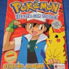 Coleccionismo Álbum: POKEMON ¡HAZTE CON TODOS ! - MERLIN STICKERS ¡COMPLETO E IMPECABLE!. Lote 152844106