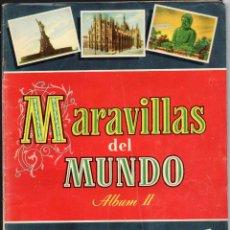 Coleccionismo Álbum: MARAVILLAS DEL MUNDO ALBUM II - EDITORIAL BRUGUERA - COLECCION CULTURA 1956 - COMPLETA 250 CROMOS. Lote 153121254