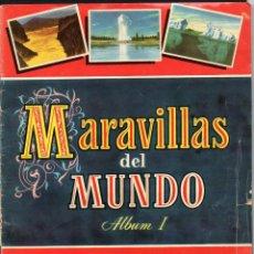 Coleccionismo Álbum: MARAVILLAS DEL MUNDO ALBUM I - EDITORIAL BRUGUERA - COLECCION CULTURA 1956 - COMPLETA 250 CROMOS. Lote 153121382