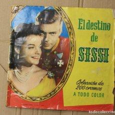 Coleccionismo Álbum: ALBUM CROMOS EL DESTINO DE SISSI. 200 CROMOS. FALTA EL CROMO 23, REPETIDO. EDITORIAL BRUGUERA. Lote 153348817