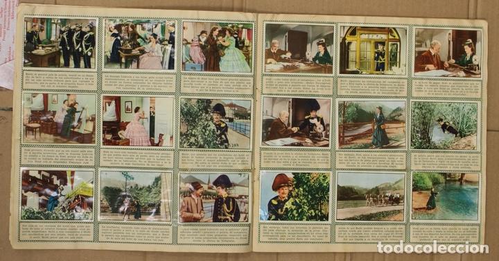 Coleccionismo Álbum: ALBUM CROMOS SISSI. 200 CROMOS. COMPLETO. EDITORIAL BRUGUERA - Foto 3 - 153349701