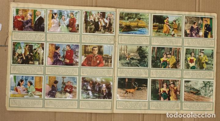 Coleccionismo Álbum: ALBUM CROMOS SISSI. 200 CROMOS. COMPLETO. EDITORIAL BRUGUERA - Foto 4 - 153349701