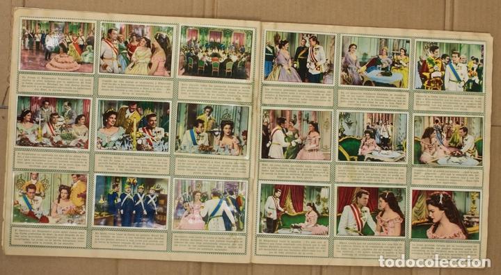 Coleccionismo Álbum: ALBUM CROMOS SISSI. 200 CROMOS. COMPLETO. EDITORIAL BRUGUERA - Foto 5 - 153349701