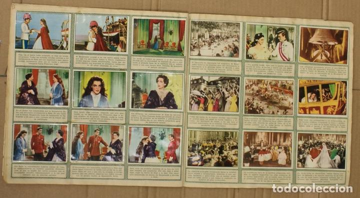 Coleccionismo Álbum: ALBUM CROMOS SISSI. 200 CROMOS. COMPLETO. EDITORIAL BRUGUERA - Foto 6 - 153349701