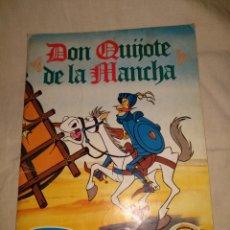 Coleccionismo Álbum: ANTIGUO ÁLBUM CROMOS DON QUIJOTE DELA MANCHA DANONE COMPLETO. 1979.. Lote 153575185