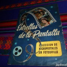 Coleccionismo Álbum: ESTRELLAS DE LA PANTALLA PRIMERA SERIE COMPLETO 102 CROMOS. RUIZ ROMERO 1954. BUEN ESTADO.. Lote 153686178
