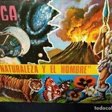 Colecionismo Caderneta: ALBUM DE CROMOS COMPLETO - LA NATURALEZA Y EL HOMBRE - MAGA -. Lote 153929162