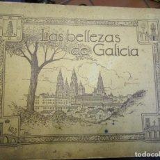 Coleccionismo Álbum: ' LAS BELLEZAS DE GALICIA ' - ALBUM CROMOS COMPLETO, EDITADO POR GIL GANELLAS OVIEDO APROX 1930 +. Lote 154208102