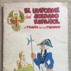 Coleccionismo Álbum: ÁLBUM EL UNIFORME DEL SOLDADO ESPAÑOL A TRAVÉS DE LOS TIEMPOS/CIGARRILLOS CUMBRE LAS PALMAS COMPLETO. Lote 154253554